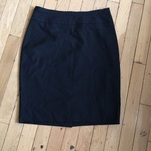 The Limited Black Collection business skirt